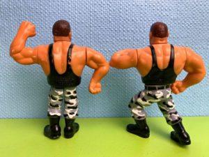 The Bushwhackers Action-Figuren / WWF