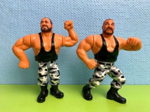 The Bushwhackers Action-Figuren / WWF
