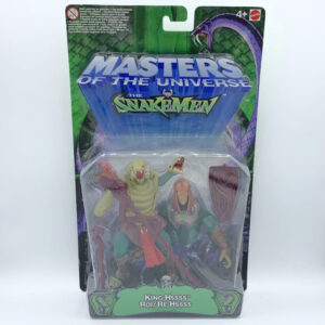 King Hssss (King Hiss) MOC – Action Figur aus 2003 / Masters of the Universe