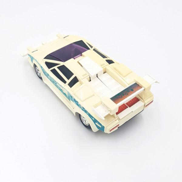 Stiletto aus 1987/88 von Kenner Toys / M.A.S.K. hinten