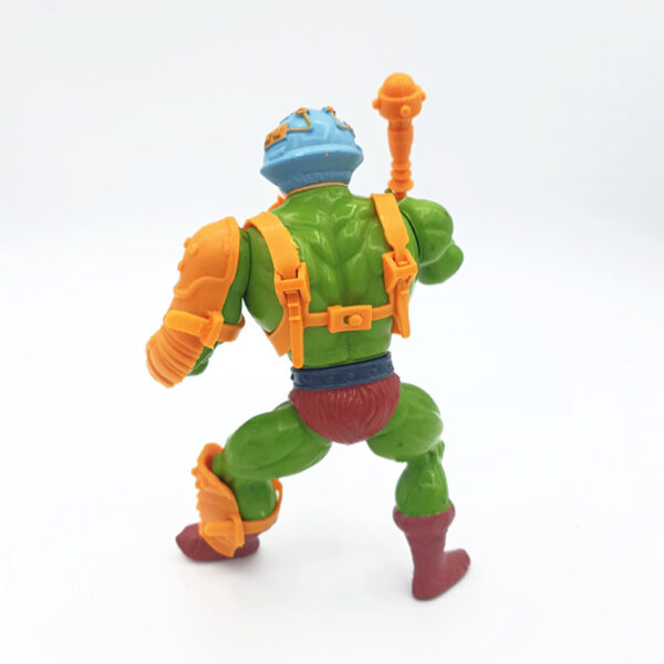 Man-At-Arms – Action Figur aus 1982 / Masters of the Universe hinten