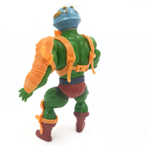 Man-At-Arms – Action Figur aus 1982 / Masters of the Universe (#2) hinten