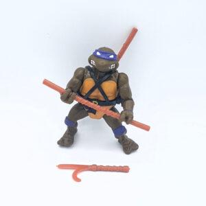 Donatello ASctionfigur der TMNT aus dem Jahr 1988 mit Zubehör