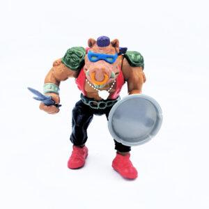 Bebop ist einer der Schläger von Shredder, dem Erzfeind der Teenage Mutant Ninja Turtles. Hier die Actionfigur von Playmates Toys aus 1988