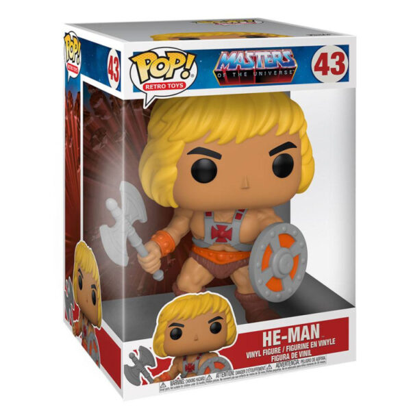 He-Man - Super Sized POP! Animation Vinyl Figur / Masters of the Universe