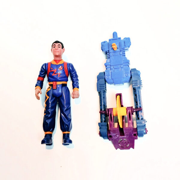 Winston Zeddmore – Action Figur aus 1989 / The Real Ghostbusters