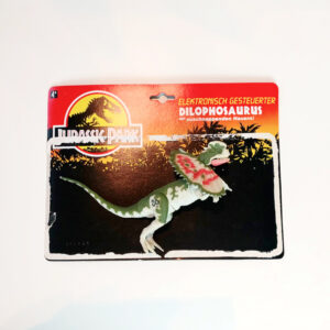 Dilophosaurus aus 1993 von Kenner Toys / Jurassic Park