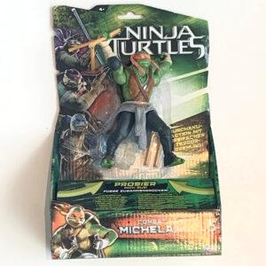 Michelangelo aus 2014. Tolle Actionfigur mit Actionmove und viel Zubehör der Teenage Mutant Ninja Turtles