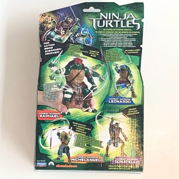 Ninja Turtles (Movie) Combat Warrior Karte hinten / Teenage Mutant Ninja Turtles