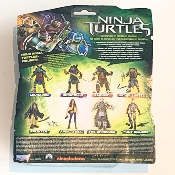 Back Card der Teenage Mutant Ninja Turtles Actionfigur aus 2014