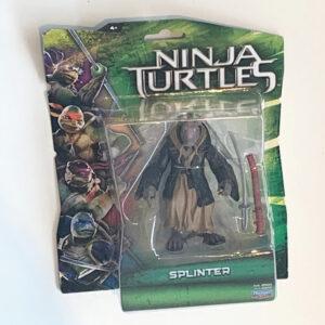 Splinter ist der Ziehvater der Teenage Mutant Ninja Turtles und darf in keiner Actionfiguren Sammlung fehlen