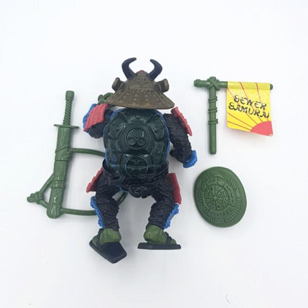 Leo, the Sewer Samurai - Actionfigur aus 1990 / Teenage Mutant Ninja Turtles