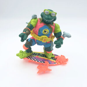 Mike, the Sewer Surfer - Actionfigur aus 1990 / Teenage Mutant Ninja Turtles