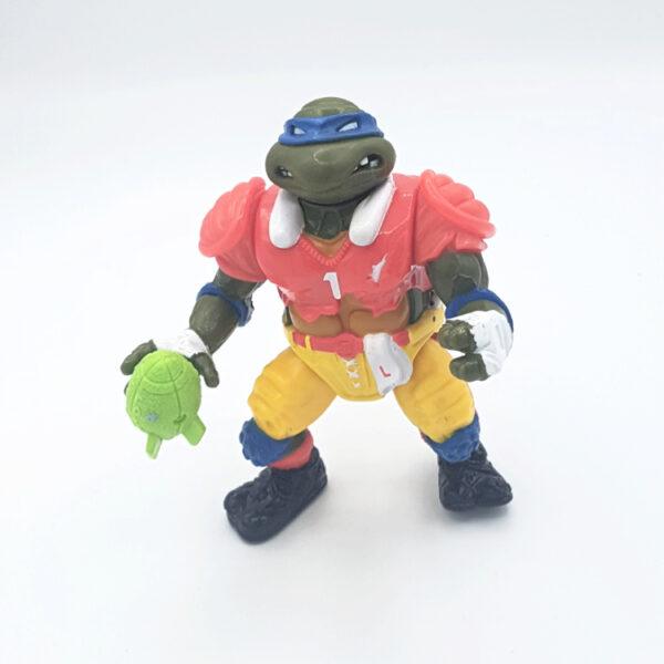 T.D. Tossin' Leo - Actionfigur aus 1991 / Teenage Mutant Ninja Turtles