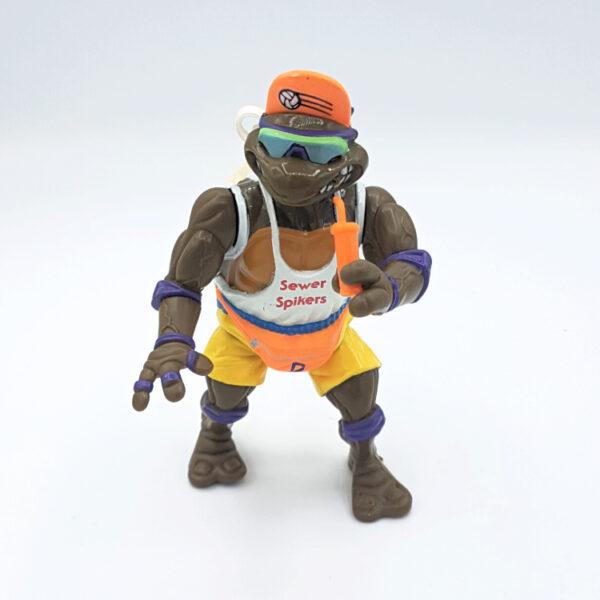 Spike 'n Volley Don - Actionfigur aus 1992 / Teenage Mutant Ninja Turtles