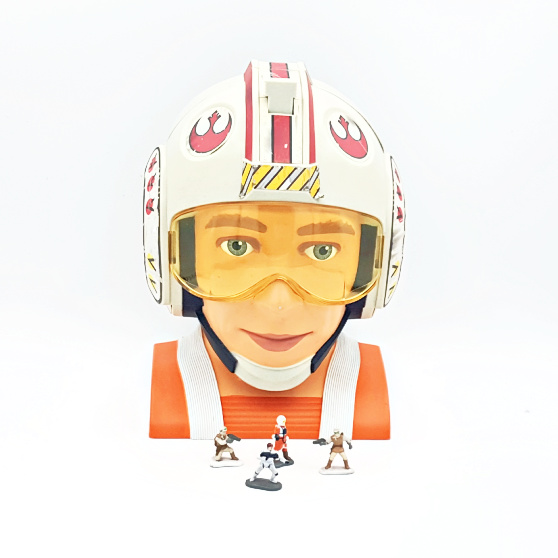 Star Wars Luke Skywalker - Micro Machines Playset / Galoob Toys