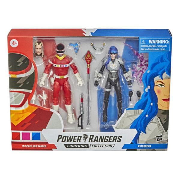 In Space Red Ranger vs. Astronema – Actionfiguren Doppelpack von Hasbro / Power Rangers - Lightning Collection