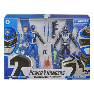 S.P.D. B-Squad Blue Ranger vs. S.P.D. A-Squad Blue Ranger – Actionfiguren Doppelpack von Hasbro / Power Rangers - Lightning Collection