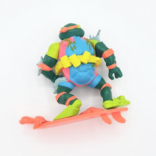 Mike, the Sewer Surfer - Actionfigur aus 1990 / Teenage Mutant Ninja Turtles (#2) hinten