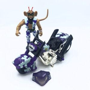 Tail-Whippin' Throttle & Bike - Actionfigur aus 1994 von Galoob / Biker Mice from Mars