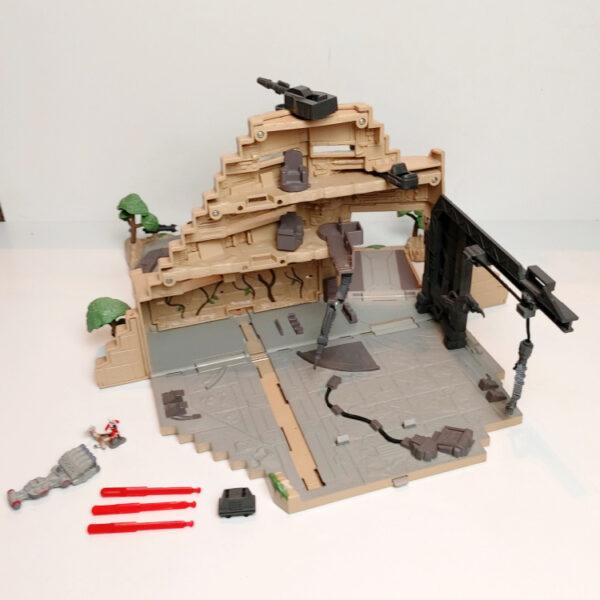 Yavin Rebel Base - Micro Machines Playset Star Wars / Galoob Toys back