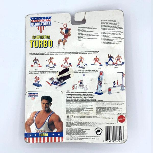 Turbo MOC - Actionfigur aus 1991 / American Gladiators hinten
