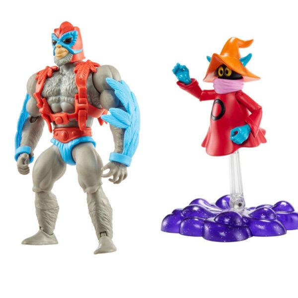 Stratos & Orko - Actionfiguren von Mattel / Masters of the Universe Origins 202/21