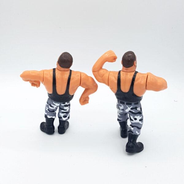The Bushwhackers - Actionfiguren aus 1991 / WWF (#6) hinten