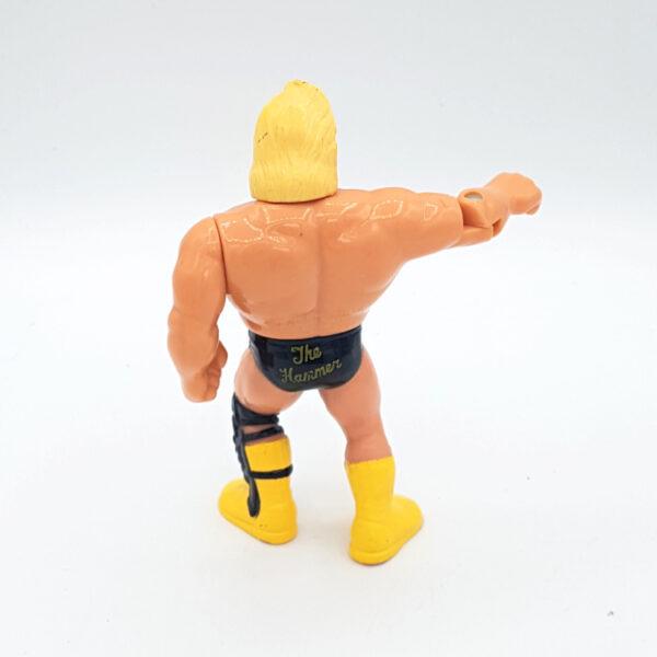 """Greg """"The Hammer"""" Valentine - Actionfigur aus 1991 / WWF (#3) hinten"""