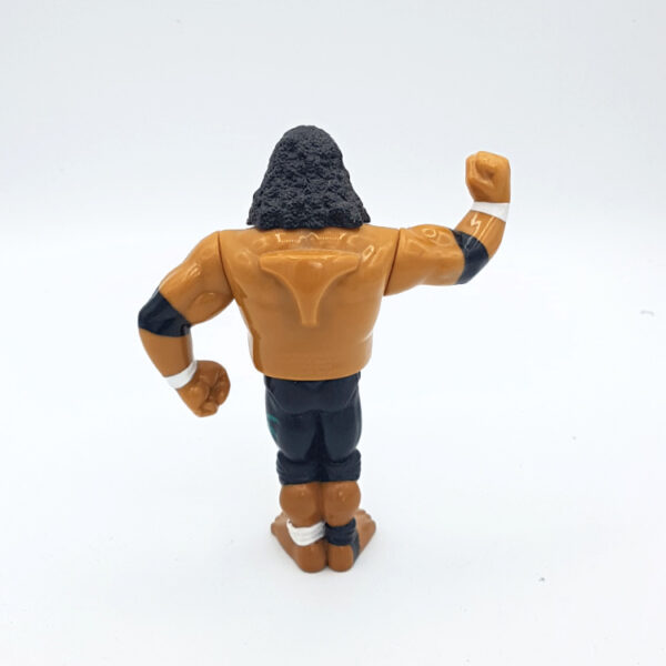 Headshrinkers Samu - Action Figur aus 1994 / WWF (#2) hinten