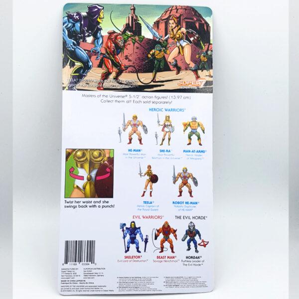 Teela Moc - Actionfigur von Super7 / Masters of the Universe hinten