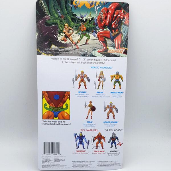 Beast Man - Actionfigur von Super7 / Masters of the Universe hinten