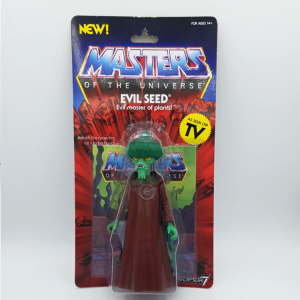 Evil Seed Moc - Actionfigur von Super7 / Masters of the Universe