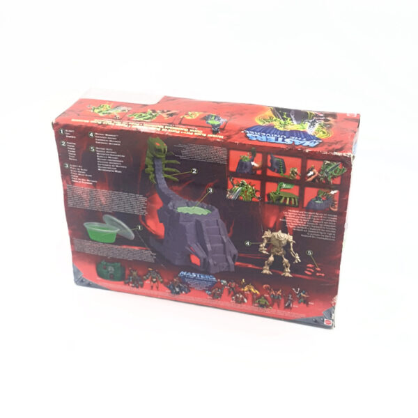 Mutant Slime Pit MISB – Action Playset aus 2003 / Masters of the Universe hinten