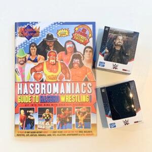 The Guide to WWF Hasbro + 2 WWE Minifiguren - Loyal Subjects