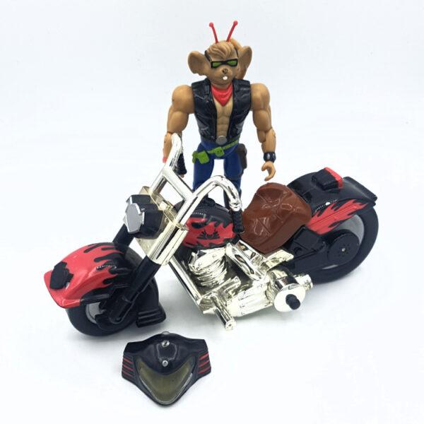 Throttle & Martian Monster Bike - Actionfigur aus 1993/94 von Galoob / Biker Mice from Mars