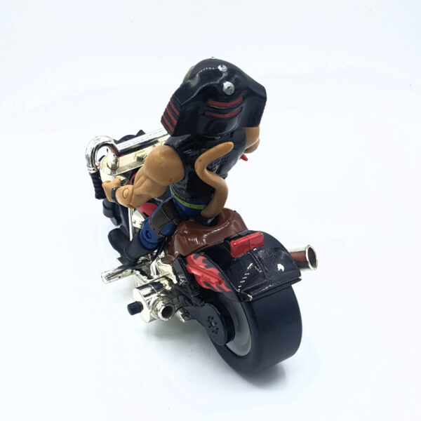 Throttle & Martian Monster Bike - Actionfigur aus 1993/94 von Galoob / Biker Mice from Mars hinten