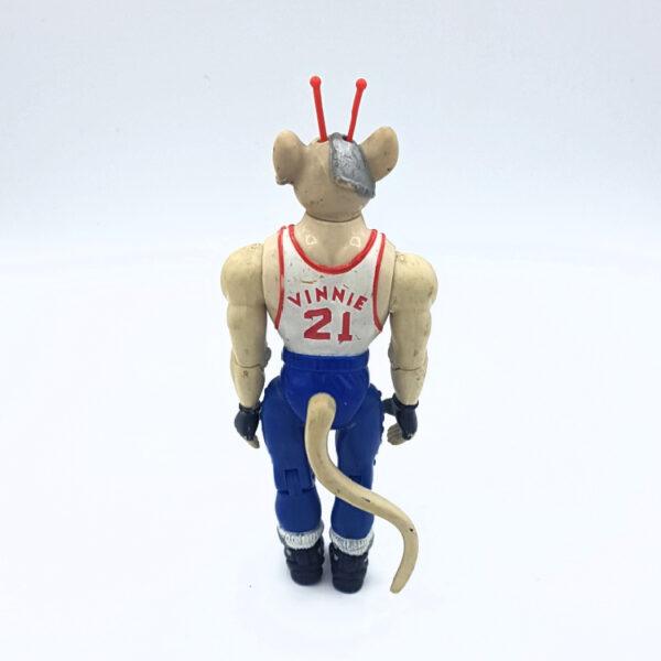 Slam-Dunk Vinnie - Actionfigur aus 1994 von Galoob / Biker Mice from Mars hinten
