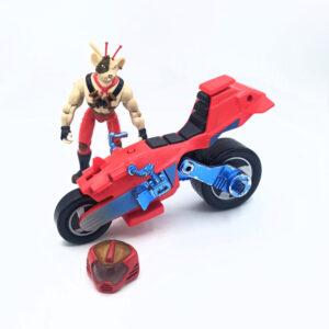 Vinnie & Bike - Actionfigur aus 1994 von Galoob / Biker Mice from Mars