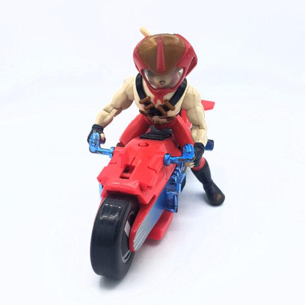 Vinnie & Bike - Actionfigur aus 1994 von Galoob / Biker Mice from Mars vorne