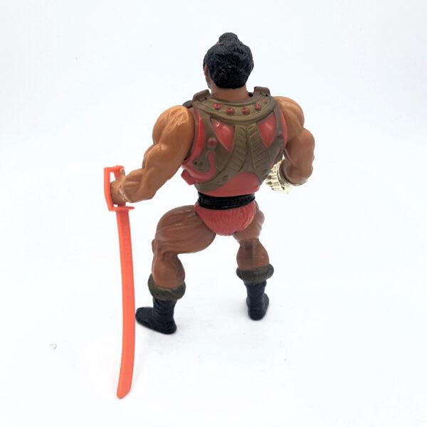Jitsu – Action Figur aus 1984 / Masters of the Universe (#2) hinten