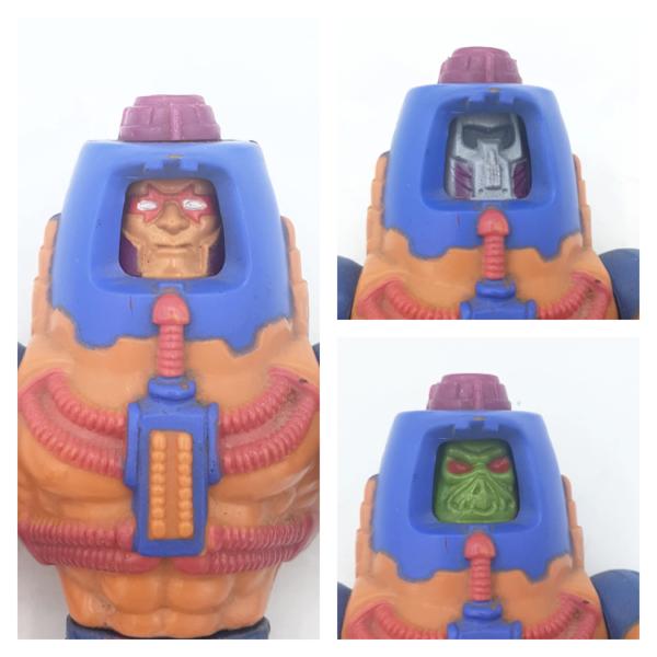 Man-E-Faces – Action Figur aus 1982 / Masters of the Universe (#5) Gesicht