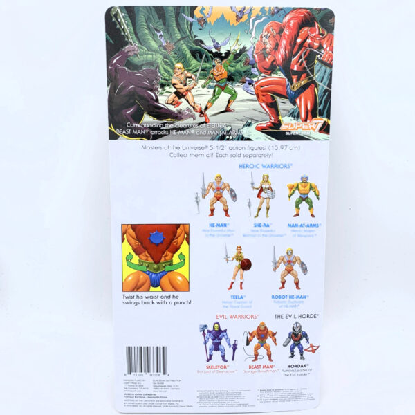Beast Man - Actionfigur von Super7 / Masters of the Universe (#2) hinten