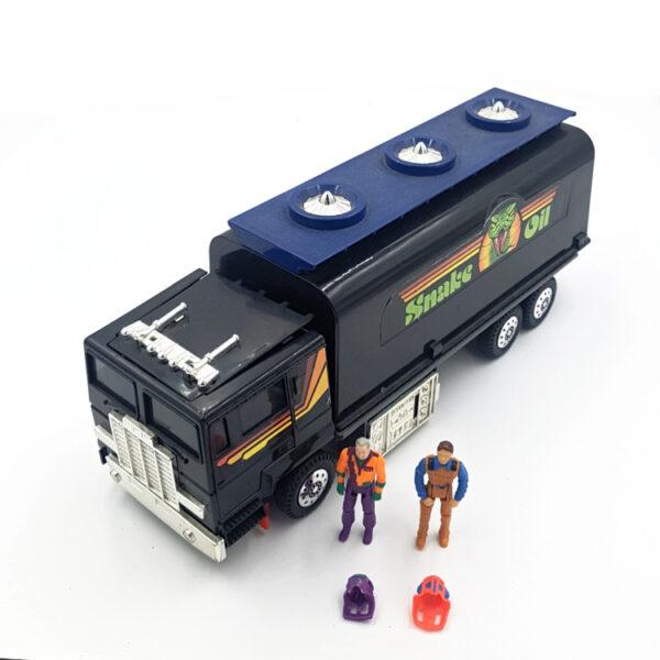 Outlaw mit Figur aus 1986 von Kenner Toys / M.A.S.K.