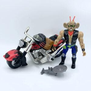 Throttle & Martian Monster Bike - Actionfigur aus 1993/94 von Galoob / Biker Mice from Mars (#2)