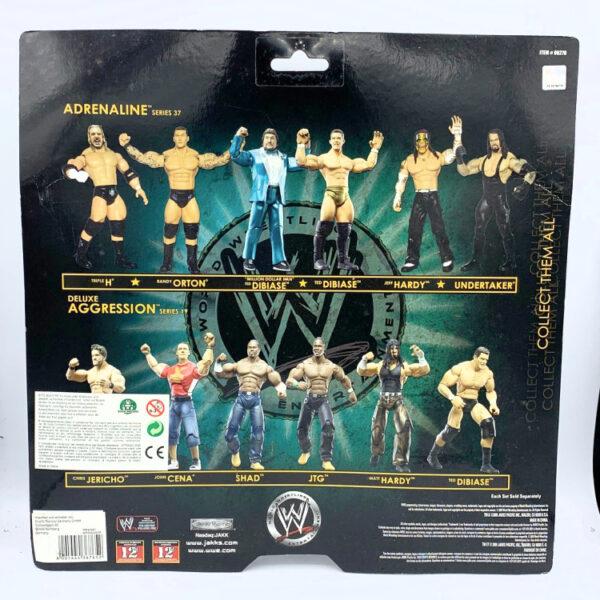 Triple H / Randy Orton - Actionfiguren aus 2009 von Jakks / WWE Adrenaline hinten