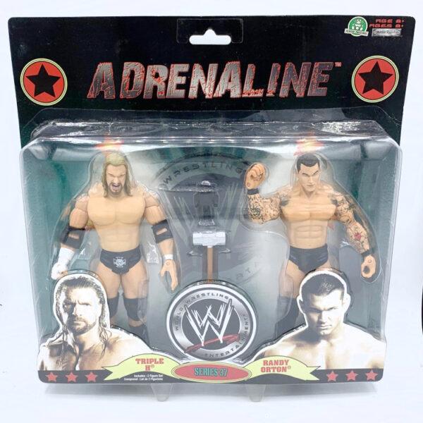 Triple H / Randy Orton - Actionfiguren aus 2009 von Jakks / WWE Adrenaline