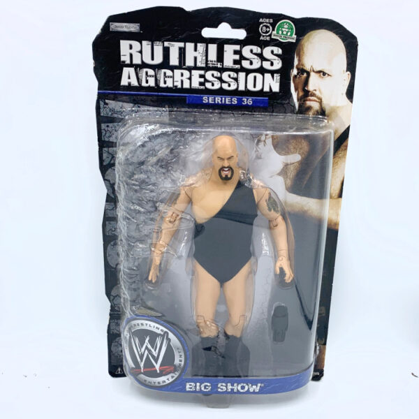 Big Show - Actionfigur aus 2008 von Jakks / WWE Ruthless Aggression