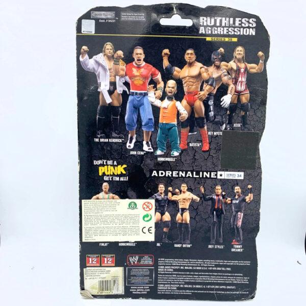 The Brian Kendrick - Actionfigur aus 2009 von Jakks / WWE Ruthless Aggression hinten