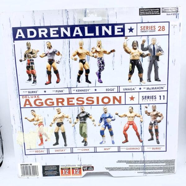Elijah Burke / CM Punk - Actionfiguren aus 2007 von Jakks / WWE Adrenaline hinten
